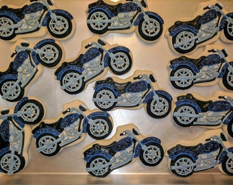 Harley Motorcycle Cookies - Sold by the dozen