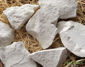 KRASAVCHIK edible Chalk chunks natural lump for eating, Free Samples  (Russian chalk)