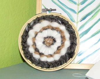 Contemporary weaving round