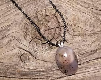 Spotted Agate Necklace