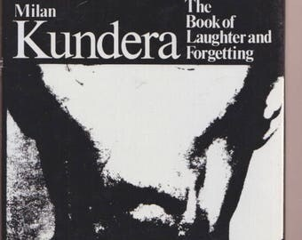 The Book of Laughter and Forgetting by MILAN KUNDERA 1st UK 1982 hardcover/dj