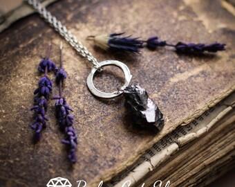 Elite Shungite necklace EMF protection Shungite necklace Shungite jewelry Energy crystal Root chakra Noble Elite Shungite healing crystal