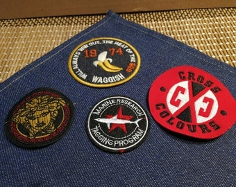 Vintage Embroidery Patches, Towel Patches, Sew on Patches, Iron on Patches Wholesale Clearance