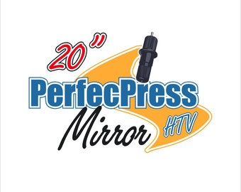 "Mirror Foil HTV 12"" Sheets"