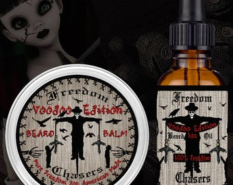 Freedom Chasers Voodoo Edition Balm and Oil Combo