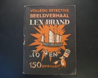 Vintage cartoon Lex Brand, To Yen ... 1948.