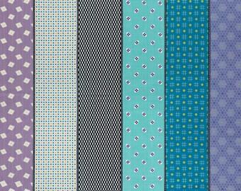 1 yard - Moda-  Lollies Sweetie - Multi Dark - 18130 15 - cotton fabric - Jen Kingwell