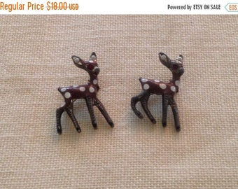 Anniversary Sale Adorable Vintage Deer Dress Pins