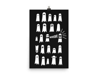 Small Ghost Posters