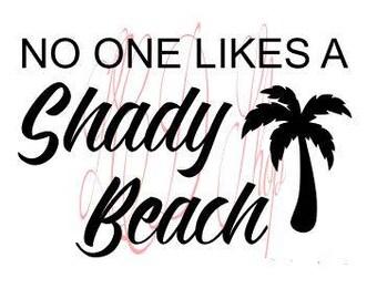 Shady Beach SVG