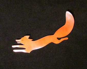 Red Fox, Wildlife, Sportsman, Hunter, Handmade, Metal Art, Wall Hanging