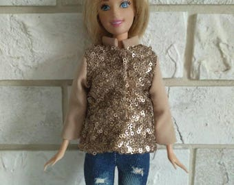 Barbie clothes - Jacket for Barbie