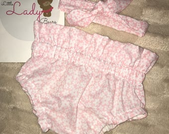 Baby girls pant style bloomer