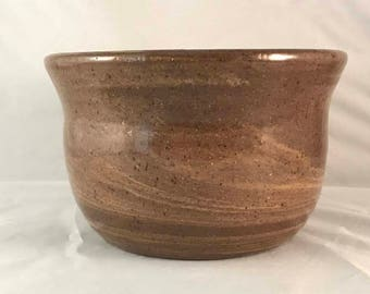 Simple Agateware Bowl - Stoneware
