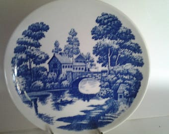 Lakeview pattern Nasco plate