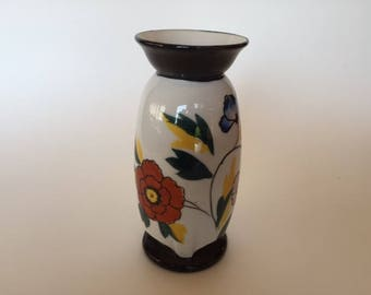 Goldcastle  hadpainted vase