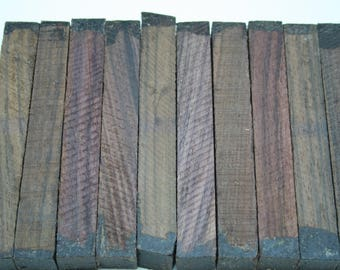 """East Indian Rosewood 10 Pieces Exotic Wood Pen Blanks 3/4""""x3/4""""x6"""" EIR-1"""