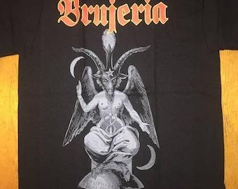 Brujeria Demoniaco Logo Black Shirt