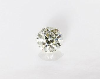Antique Old European Cut Diamond, M VS1, 0.65 Ct