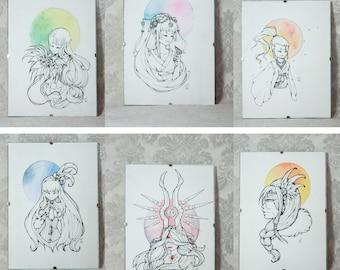 Tableau Portraits [Originaux]