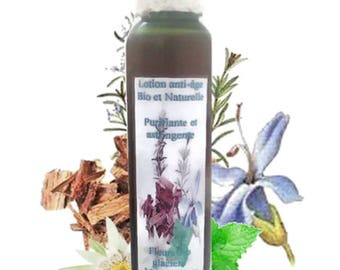 Organic lotion, purifying, astringent and anti-ageing 100 ml