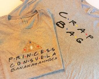 Couple Crap Bag and Princess Consuela Bananahammock T Shirt Set