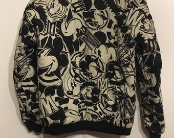 Mickey Mouse and Donald Duck Reversible Pullover Retro Vintage