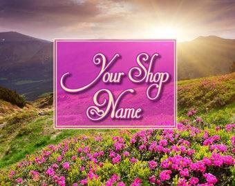 Sping Banner Set, Premade Banner Set, Shop Banner Set, Graphic Design, Shop Banner, Banner Design, Custom Banner, Cover Photo,