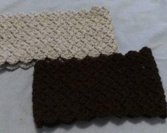 Hand Crocheted Ear Warmer