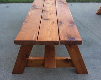 Outdoor Bench - Cedar