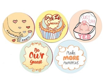 wedding favor sticker - gift for mr and mrs - wedding couple gift - sticker favor - wedding guest favour - wedding table favour