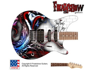 PINK FLOYD Electric Guitar - Free US Shipping - Freakshow Guitars