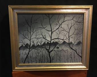 Black & White Trees #31