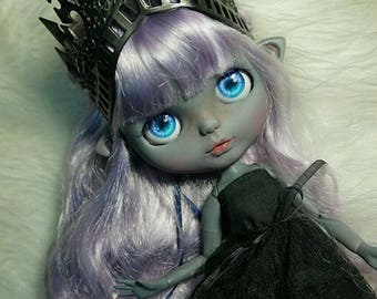 Custom Blythe Doll-EBL Facies And Authentic Scalp With Factory Ball Pointed Body