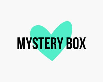Mystery Box, Surprise Box, Jewellery Mystery Box, selection of jewellery, necklace, earrings, rings, keyrings, stocking filler, gift idea