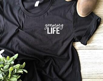 Grammy Life ©  | Grammy Shirt | Shirt for Grammy | Women's T Shirt | Trendy Tees | Grammy Gift | Granny, Nana, Grammy