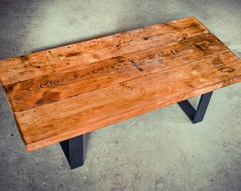 Workbench, coffee table on U-shaped