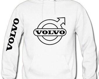 Volvo sweatshirt hooded hoodie + color sizes