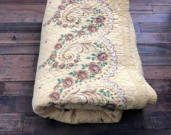 Antique Quilted Coverlet