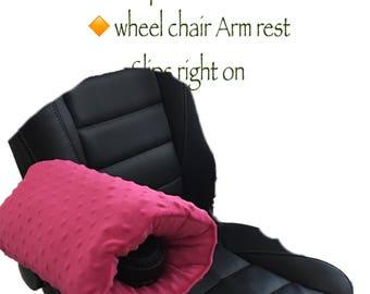 Arm Rest Pillow / Car arm rest pillow / airplane arm rest pillow / wheel chair  sc 1 st  Etsy & Arm Chair / Arm Rest Bean Bag Mouse Pad Burgundy/Tan islam-shia.org