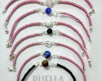 Beautiful bracelet silver gemstones