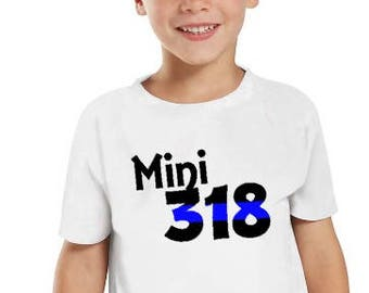 Mini Badge Number - Police Dad -Police Mom - Love my Dad - Daddy's 6 - Law Enforcement kid - Christmas - Gift