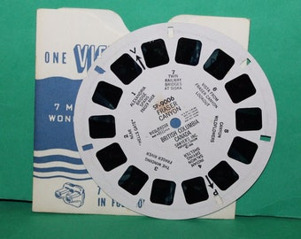 Vintage Sawyers Viewmaster Reel Fraser Canyon British Columbia Canada SP-9006