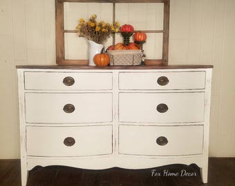 Bow Front Dresser SOLD