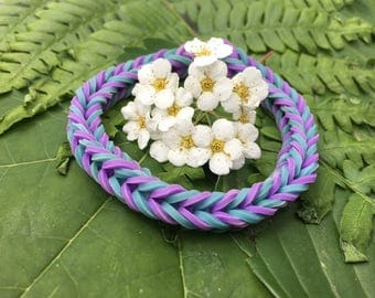 Blue & Purple Bracelet