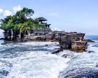 High Tide PRINTABLE   Bali, Indonesia Photo Print   wall art print, beach photography, travel photography, decor