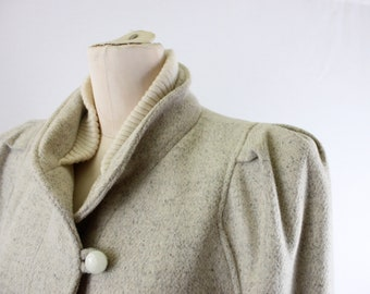 1980s wool coat | Womens wool coat
