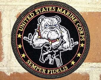 USMC Bulldog Morale/Tactical Patch