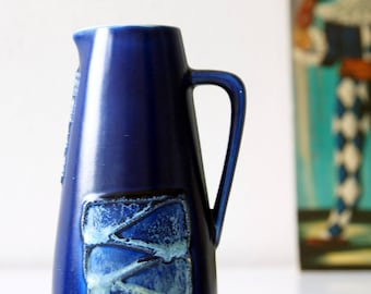 Midcentury vase, made by Strehla, Germany