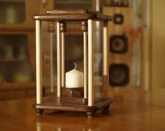 Dekolampe, lantern, light brown
